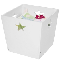 Kids Concept Pudełko w Gwiazdki Białe
