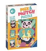 Ravensburger Mix&Match Puzzle Zwierzaczki