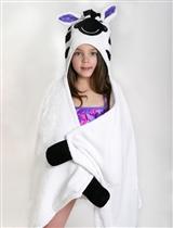 Zoocchini Ręcznik z Kapturem Zebra Ziggy