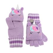 FlapJack Rękawiczki Dziecięce z Klapką Jednorożec L