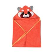 Zoocchini Ręcznik dla Niemowlaka z Kapturem Panda Ruda
