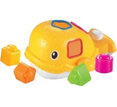 Ludi Zabawka Do Kąpieli Wieloryb Żółty