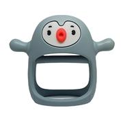Smily Mia Gryzak Silikonowy Pingwin Buddy Iron Green