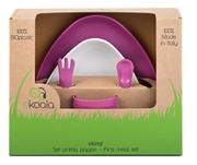 eKoala Zestaw Obiadowy Girl BIOplastik