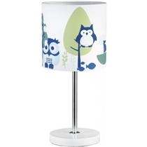 Kids Concept Lampka Stojąca Sowa Niebieska