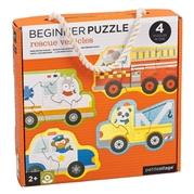 Petit Collage Pierwsze Puzzle Pojazdy