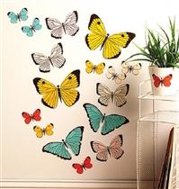 Wallies Naklejki Pastelowe Motyle