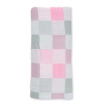 Lulujo Luxe Kocyk Muślinowy Pink