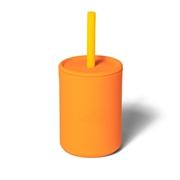 Avanchy La Petite Silikonowy Kubeczek dla Dziecka 6m+ Orange