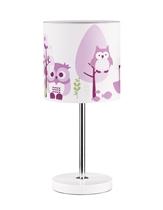 Kids Concept Lampka Stojąca Sowa Różowa