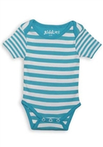 Juddlies Body Blue Stripe 0-3m