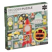 Petit Collage Puzzle Ukryte Obrazki Robot