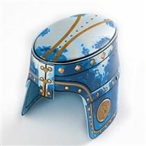 Liontouch Noble Knight Hełm Niebieski Ryce