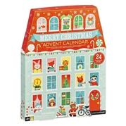 Petit Collage Kalendarz Adwentowy Święta