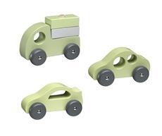 Kids Concept Drewniane Samochody 412217