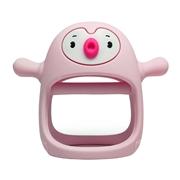 Smily Mia Gryzak Silikonowy Pingwin Buddy Light Pink