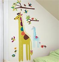 Wallies Naklejki Miarka Wzrostu Żyrafka