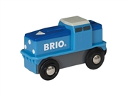 BRIO World Lokomotywa Cargo na Baterie
