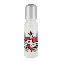 Rock Star Baby Butelka Serce 250ml