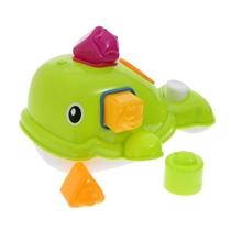 Ludi Zabawka Do Kąpieli Wieloryb Zielony