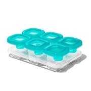OXO Silikonowe Pojemniki do Zamrażania Żywności Teal 6 szt