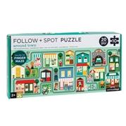 Petit Collage Puzzle z Labiryntem Miasto
