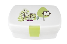 Kids Concept Lunch Box Sowa Zielona