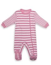 Juddlies Pajacyk Sachet Pink Stripe Newbor