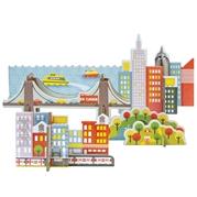 Petit Collage Puzzle Przestrzenne New York