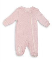 Juddlies Pajacyk Pink Fleck Newborn