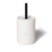 Avanchy La Petite Silikonowy Kubeczek dla Dziecka 6m+ White