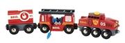BRIO World Pociag Straży Pożarnej