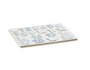 Kids Concept Puzzle Drewniane Cyfry Niebie