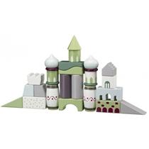 Kids Concept Klocki Drewniane Kolorowe