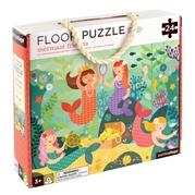 Petit Collage Puzzle Podłogowe Syrenka