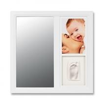 Baby Art Ramka Z Lusterkiem Biała 34120083