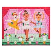 Petit Collage Puzzle Dwustronne w Torebce