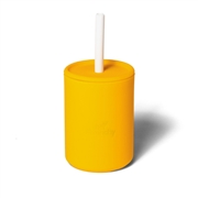 Avanchy La Petite Silikonowy Kubeczek dla Dziecka 6m+ Yellow