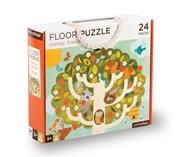 Petit Collage Puzzle Podłogowe Drzewo
