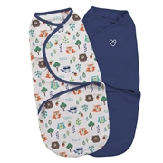SwaddleMe Otulacz Etap2 S/M Into The Woods