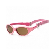 KOOLSUN Okulary FLEX Pink Hot Pink 3-6 lat