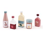 Kids Concept Bistro Zestaw Butelek 5 szt