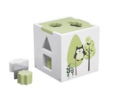 Kids Concept Sorter Drewniany Zielony