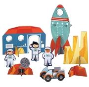Petit Collage Puzzle Przestrzenne Kosmos