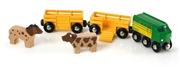 BRIO World Pociąg ze Zwierzątkami Farma