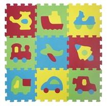 Ludi Piankowe Puzzle Pojazdy 1051