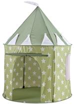 Kids Concept Namiot Zielony w Gwiazdy