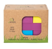ekoala Klocki dla Dzieci BIOplastik 19 szt
