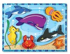 Melissa & Doug Puzzle Morskie Stworzenia