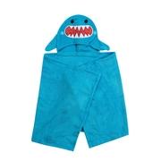 Zoocchini Ręcznik dla Dziecka Z Kapturem Rekin
